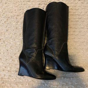 Calvin Klein Black Melinda Boots Size 7